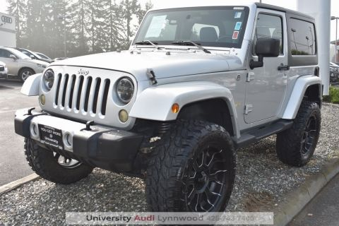Pre-Owned 2012 Jeep Wrangler Sahara 4WD 2D Sport Utility
