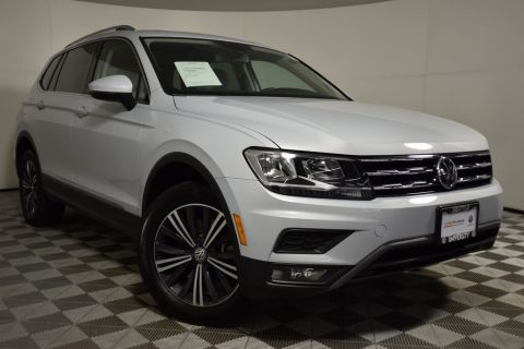 Certified Pre-Owned 2018 Volkswagen Tiguan 2.0T SEL AWD 4D Sport Utility
