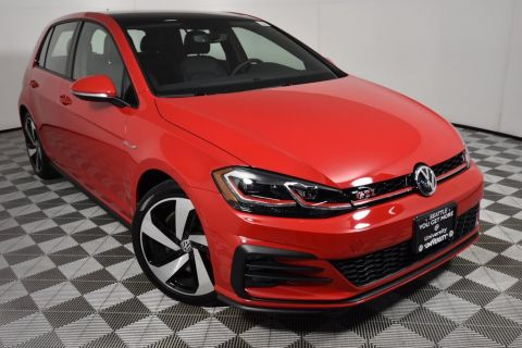 New 2020 Volkswagen Golf GTI 2.0T SE FWD 4D Hatchback