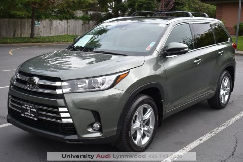 Pre-Owned 2017 Toyota Highlander Limited AWD 4D Sport Utility