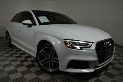 Pre-Owned 2018 Audi A3 2.0T Premium Plus FrontTrak 4D Sedan