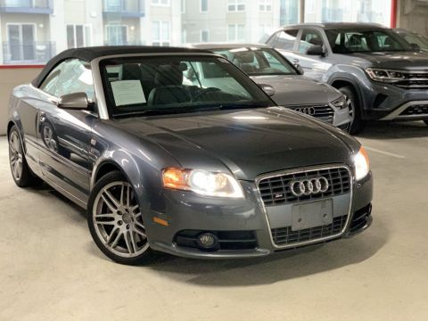 Pre-Owned 2008 Audi S4 4.2 quattro 2D Convertible